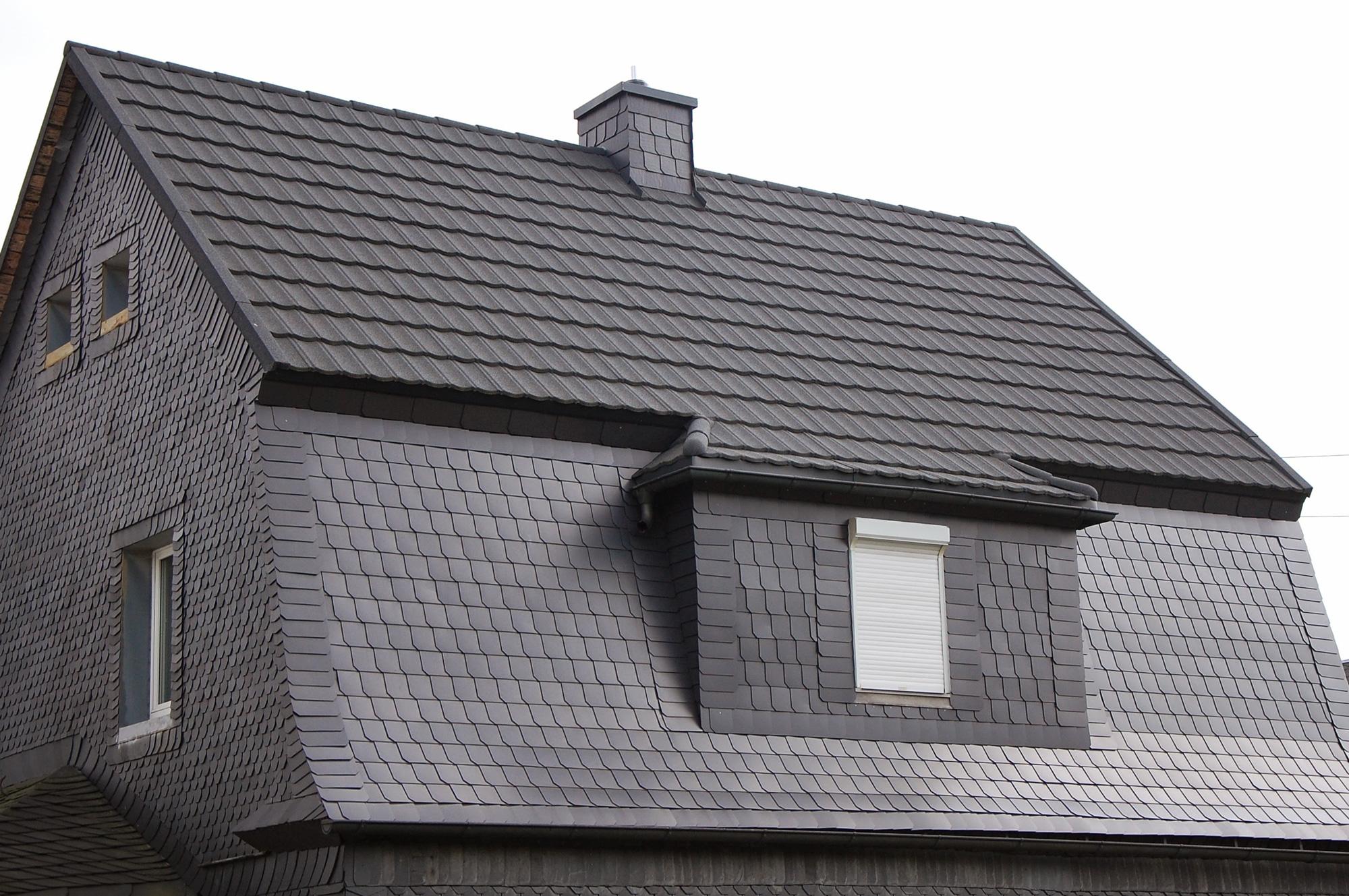 Blechdach und Kunstschieferfassade, Harra, Saale-Orla-Kreis