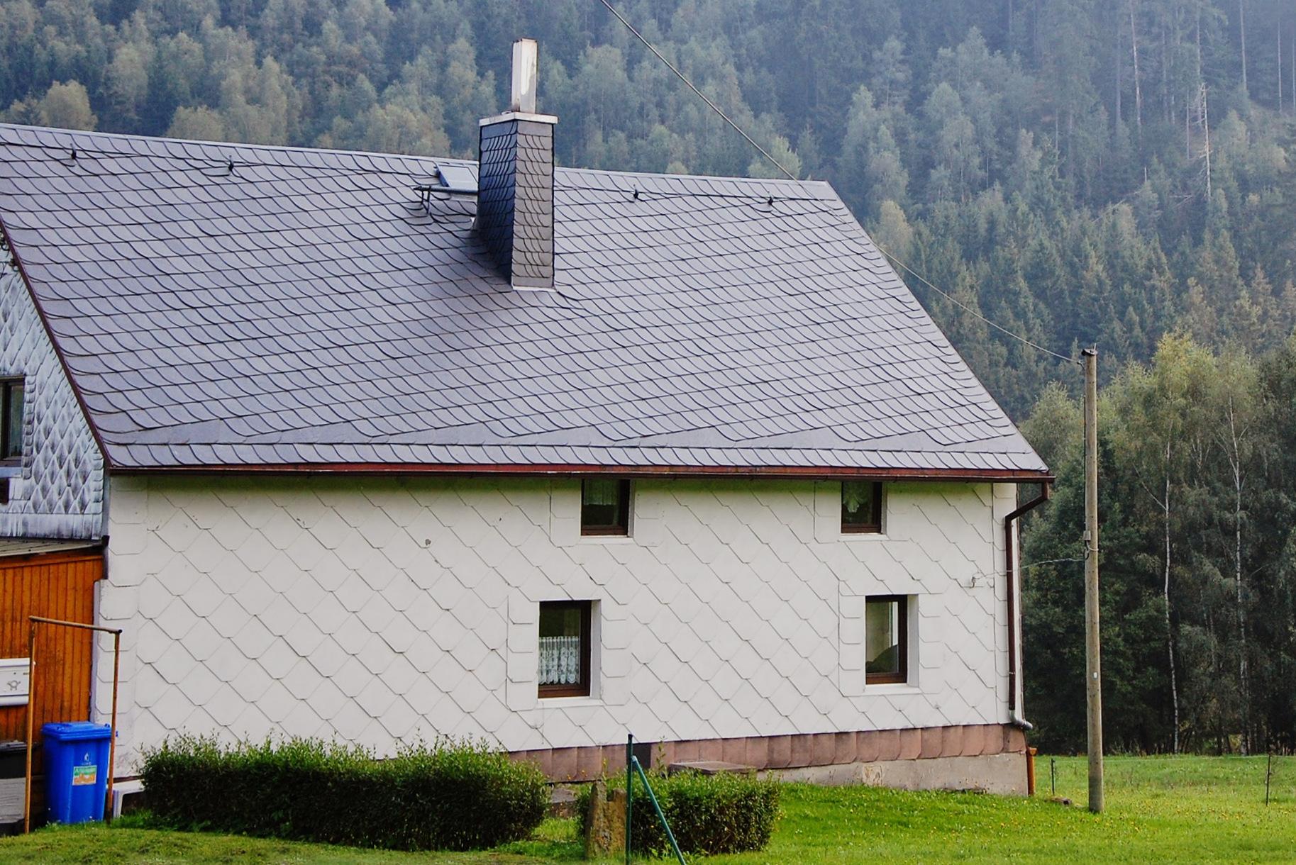 Naturschieferdach, Blankenberg, Saale-Orla-Kreis