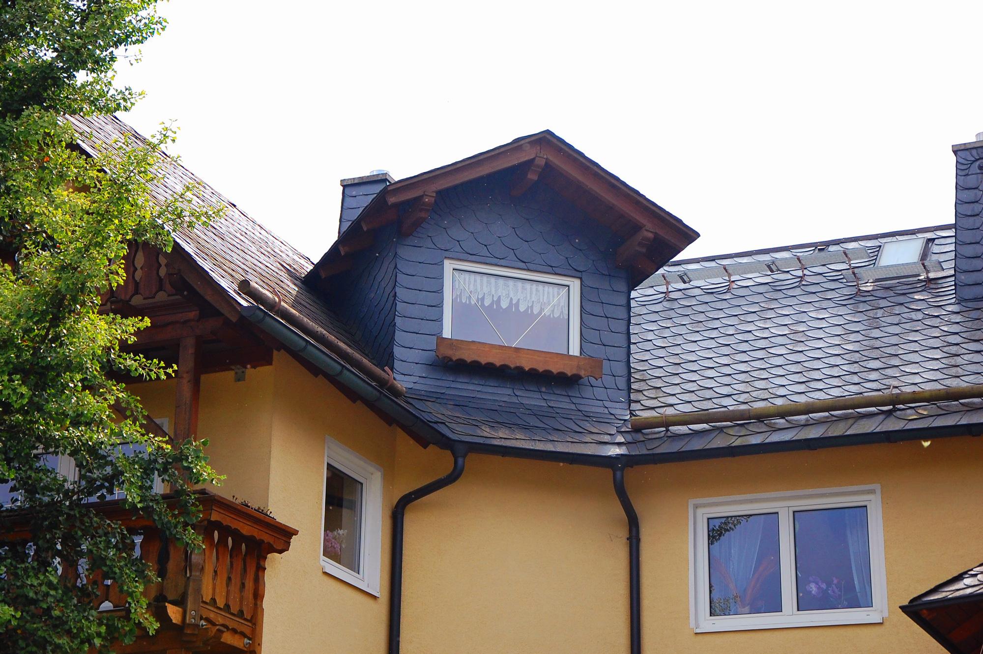 Naturschieferdach und Zimmererarbeiten, Harra, Saale-Orla-Kreis