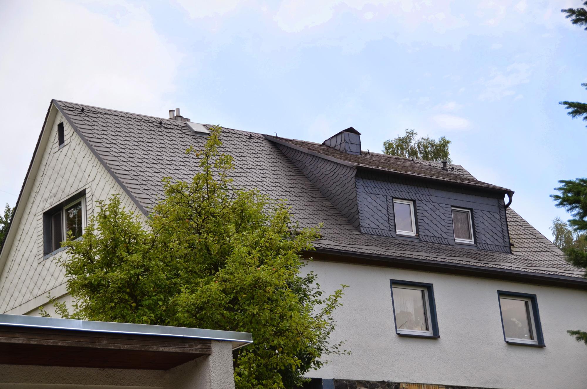 Naturschieferdach, Blankenstein, Saale-Orla-Kreis