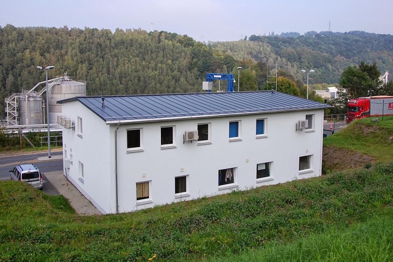 Prefalz-Dachbahnen, Zellstoff- und Papierfabrik Blankenstein, Saale-Orla-Kreis