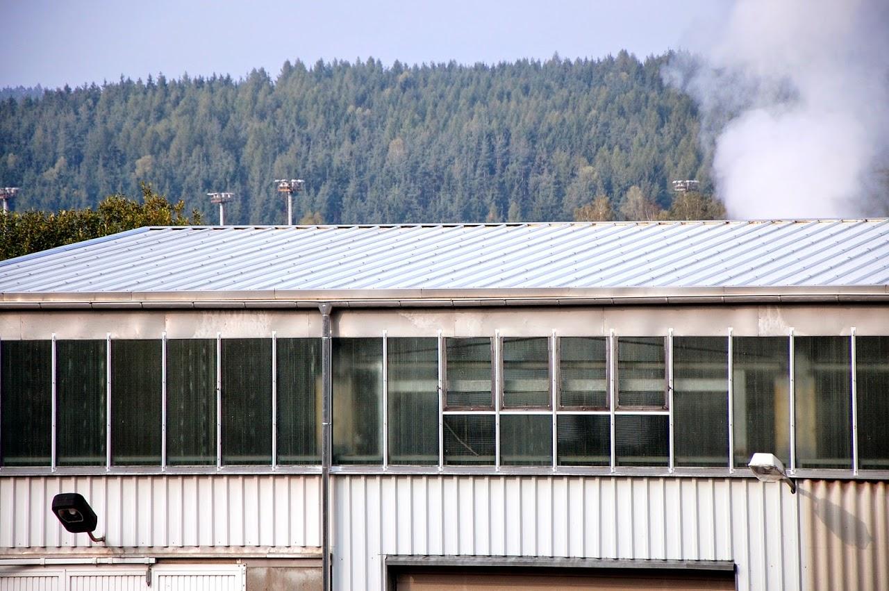 Sandwich-Dämmelemente, Industriehalle, Zellstoff- und Papierfabrik Blankenstein, Saale-Orla-Kreis