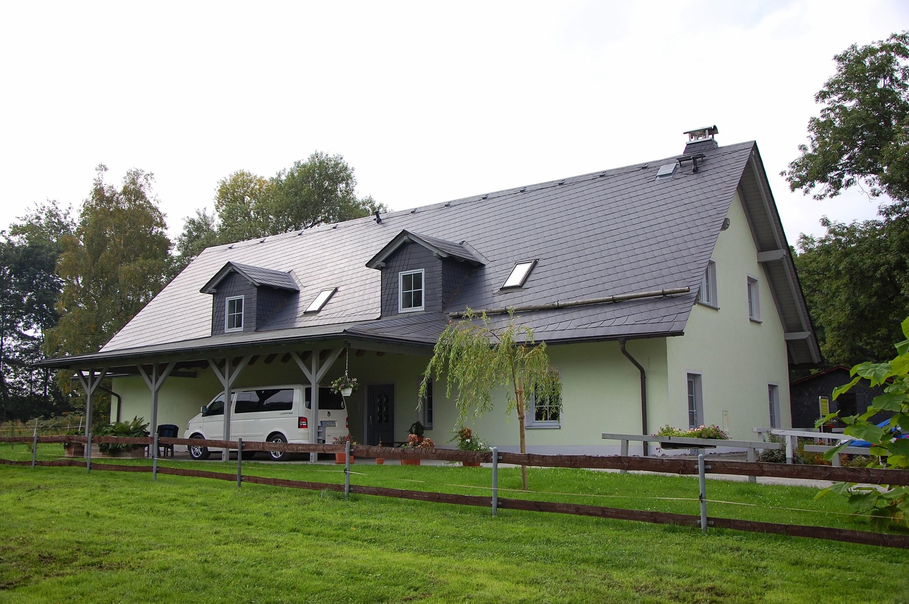 """Naturschiefer, Ferienwohnung """"Zum Forsthaus"""", Bad Lobenstein"""